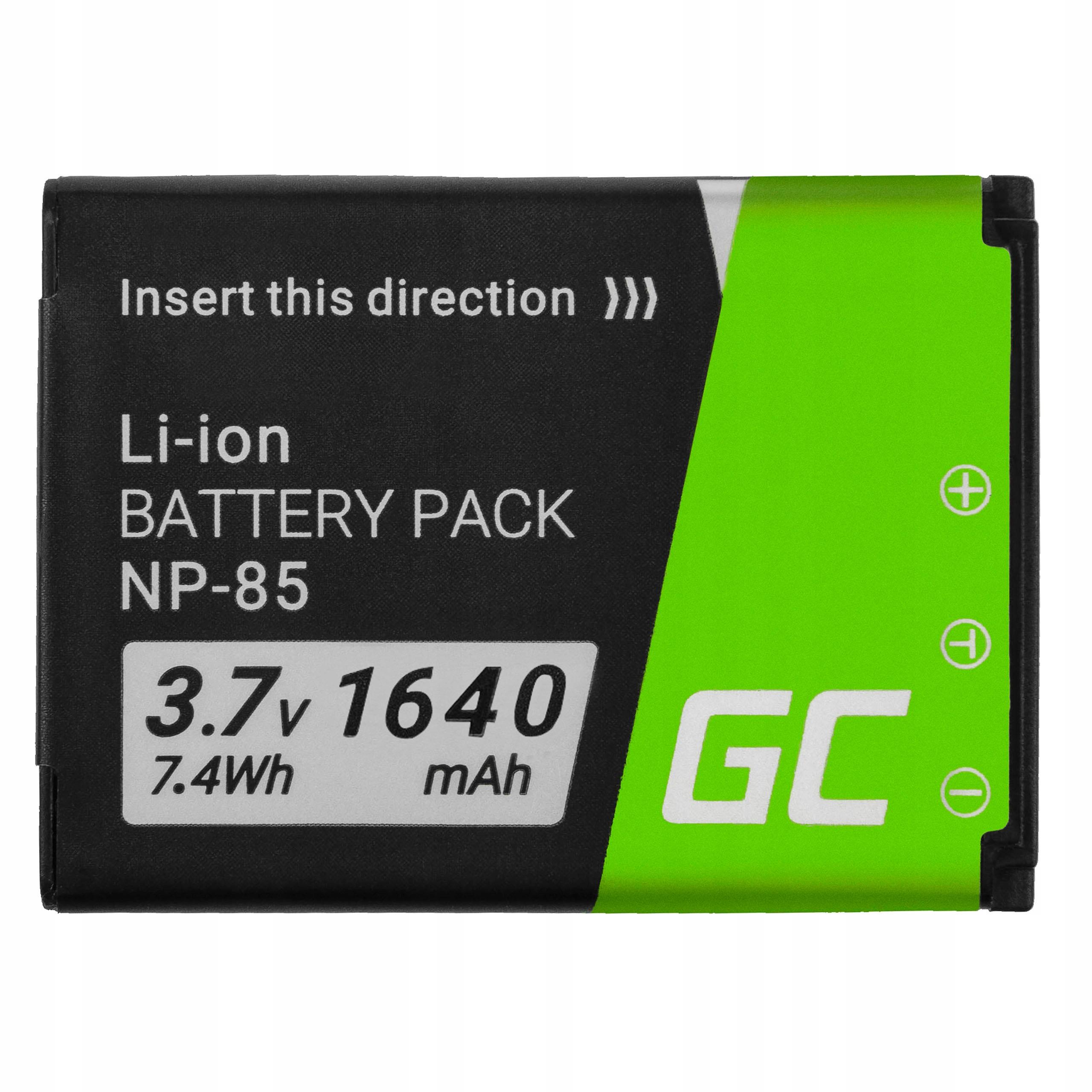 Bateria NP-85 FujiFilm FinePix SL240 SL260 1640mAh