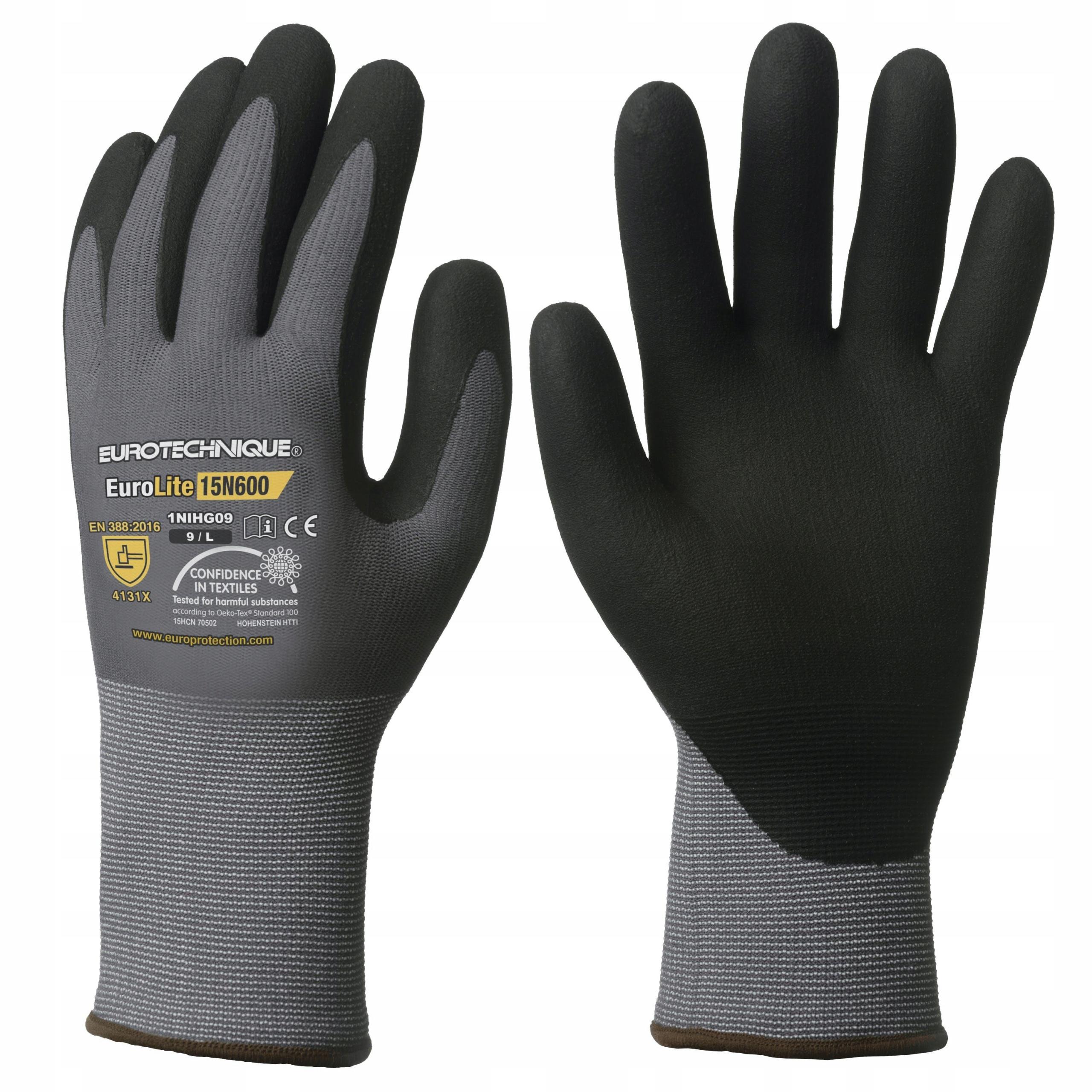 Прочные рабочие перчатки COVERGUARD EUROLITE 10