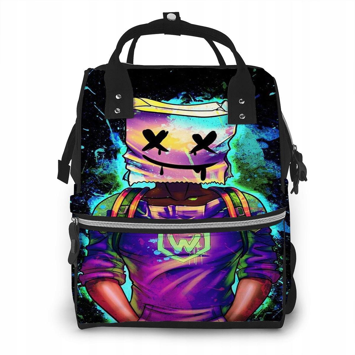 Máme odolnú tašku Ybn-701-Y0139 Marshmello 9