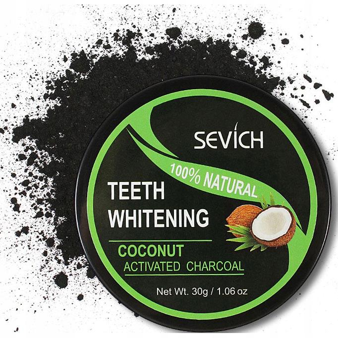 Паста для отбеливания зубов Sevich Whitening Powder Paste Whitens Coal