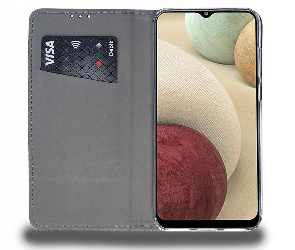 Etui do Samsung Galaxy A12 SMART MAGNET CASE SZKŁO Producent Magnetic