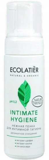 Ecolatier Пенка для интимной гигиены пробиотик 5.2