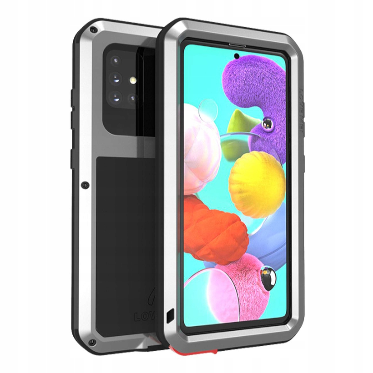 Love Mei Powerful Pancerne Etui Case Do Galaxy A51