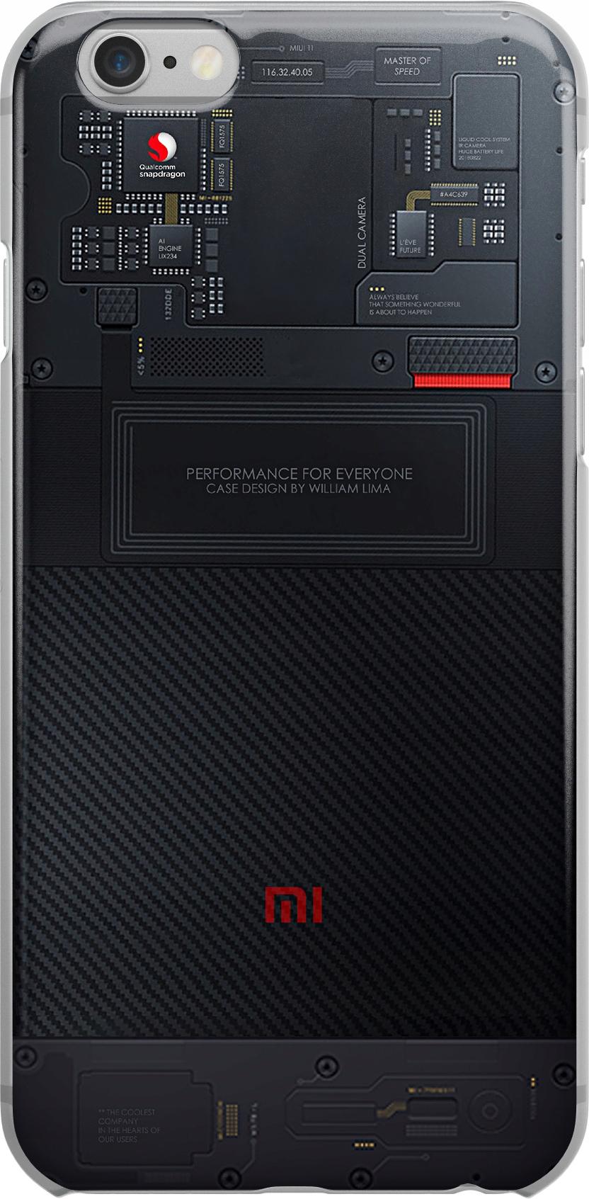 Etui Wzory Tech Huawei P20