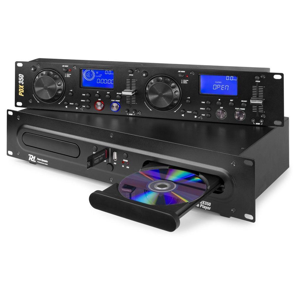 Item Dual CD player MP3 USB, LCD PDX350