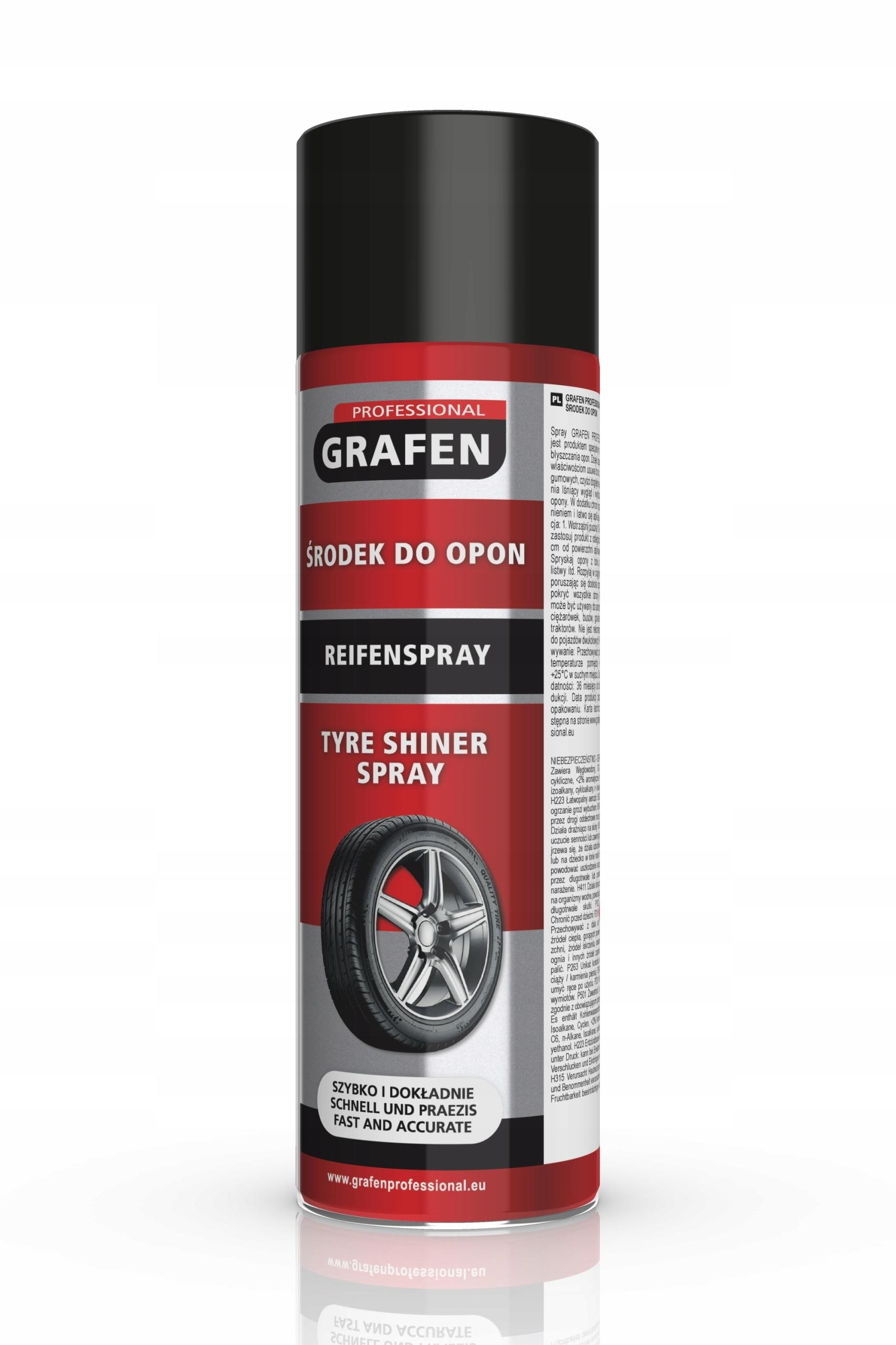 Средство для чистки шин GRAFEN 500 мл