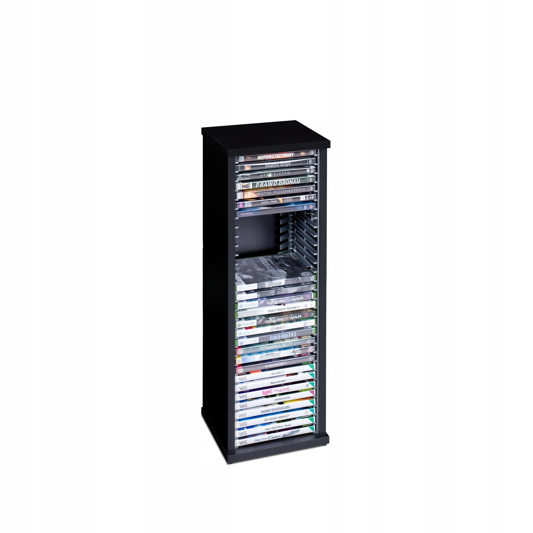 Stojan Kontajner Rack hra Xbox 360 Wii PC DVD 30