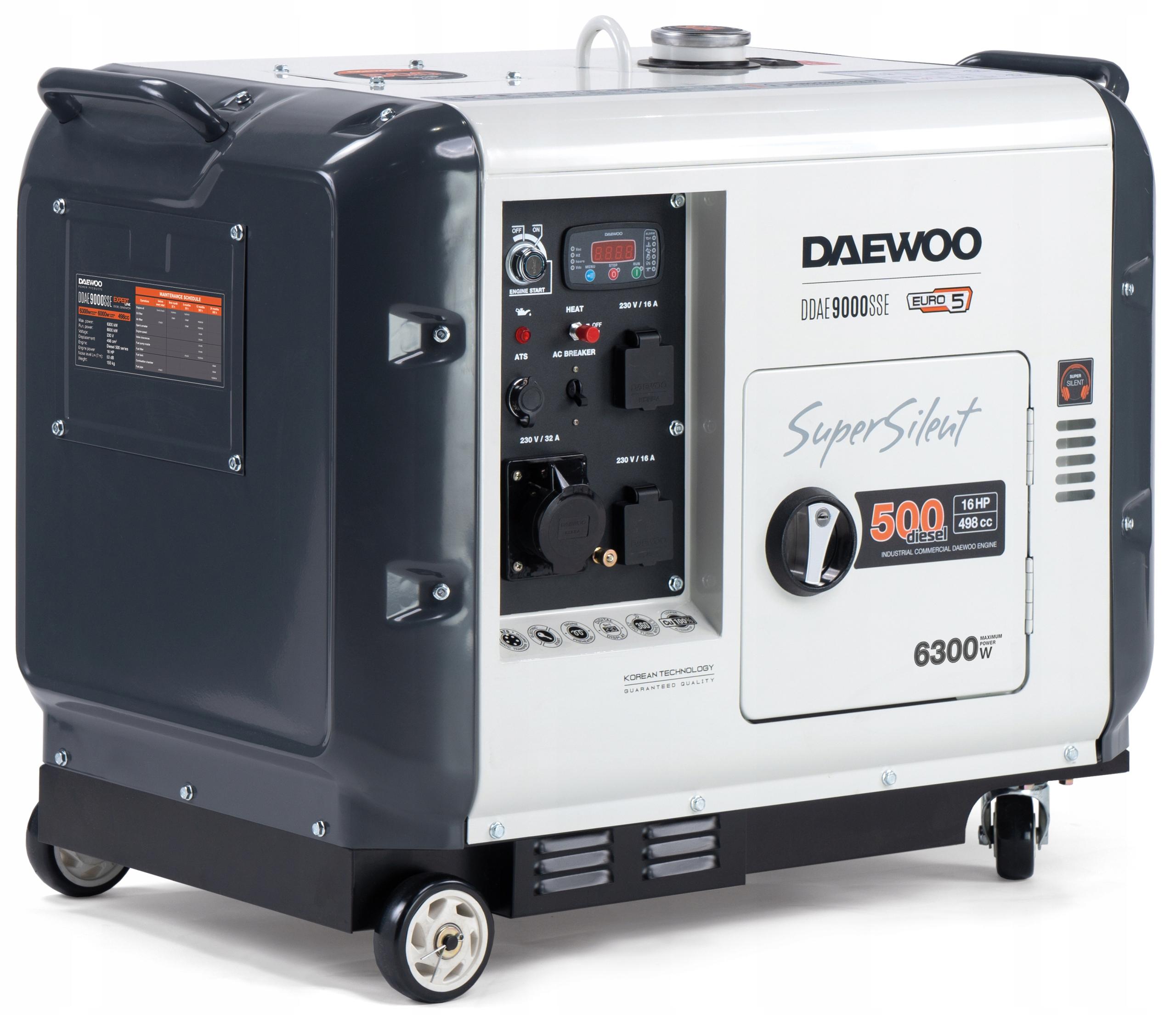 DAEWOO DDAE 9000SSE Дизель-генераторная установка