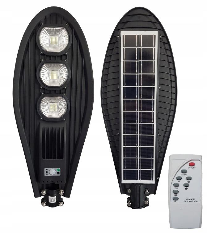 Lampa uliczna LED latarnia solarna 150W + PILOT !