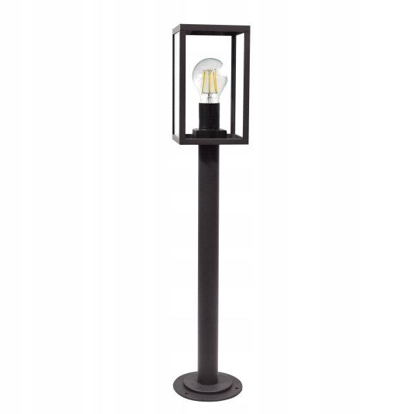 Retro exteriérová stojaca lampa Malmo 309204 Polux