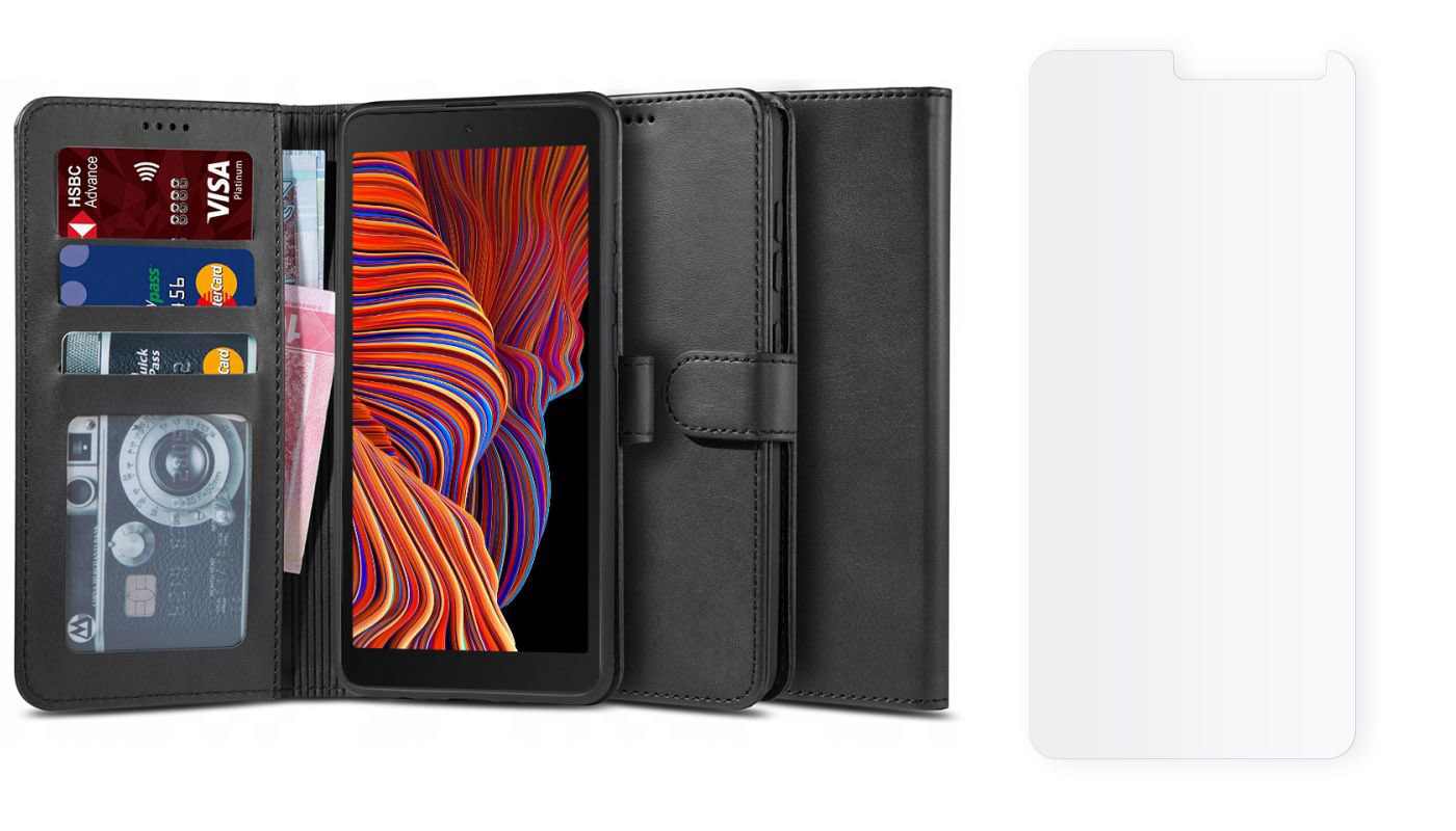 Etui Wallet 2 + szkło do Samsung Galaxy XCover 5