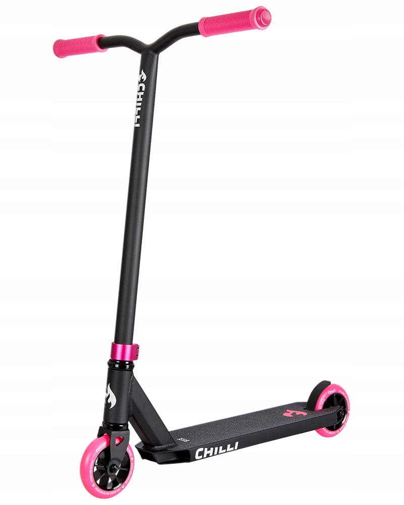 HULAJNOGA CHILLI PRO SCOOTER Base Black/Pink Lekka