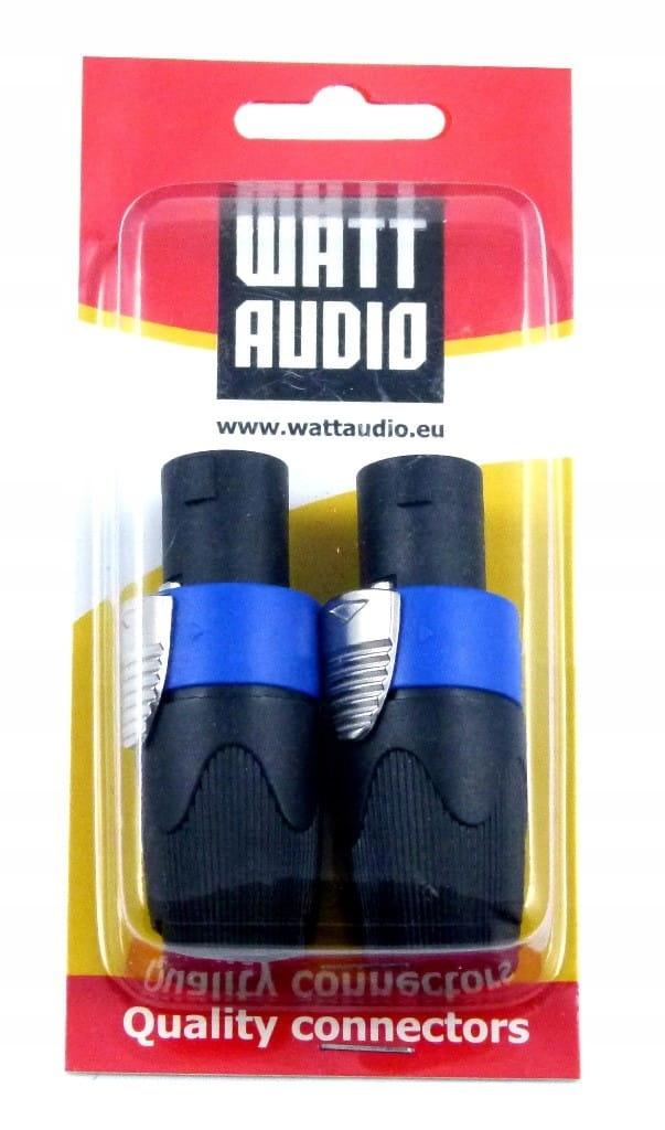 Купить Watt Audio Speakon 4 pin profesjonalne wtyki audio на Otpravka - цены и фото - доставка из Польши и стран Европы в Украину.