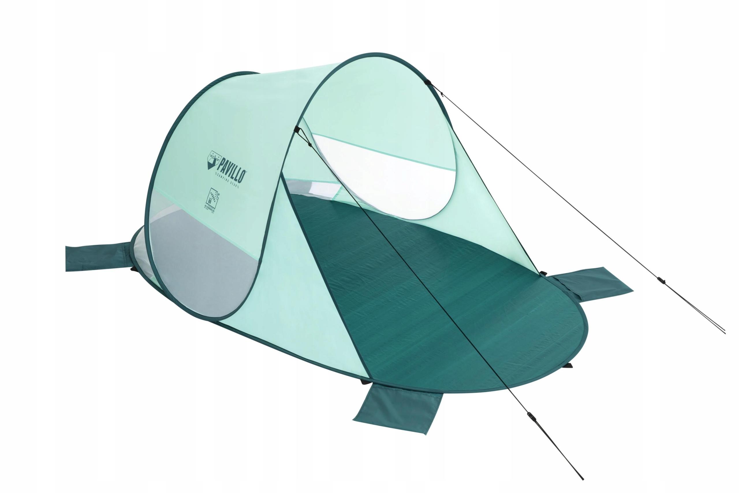 NAMIOT PLAŻOWY BESTWAY 68107, 2-osobowy, 2m x 1,2m Materiał stelaża/kijów włókno szklane