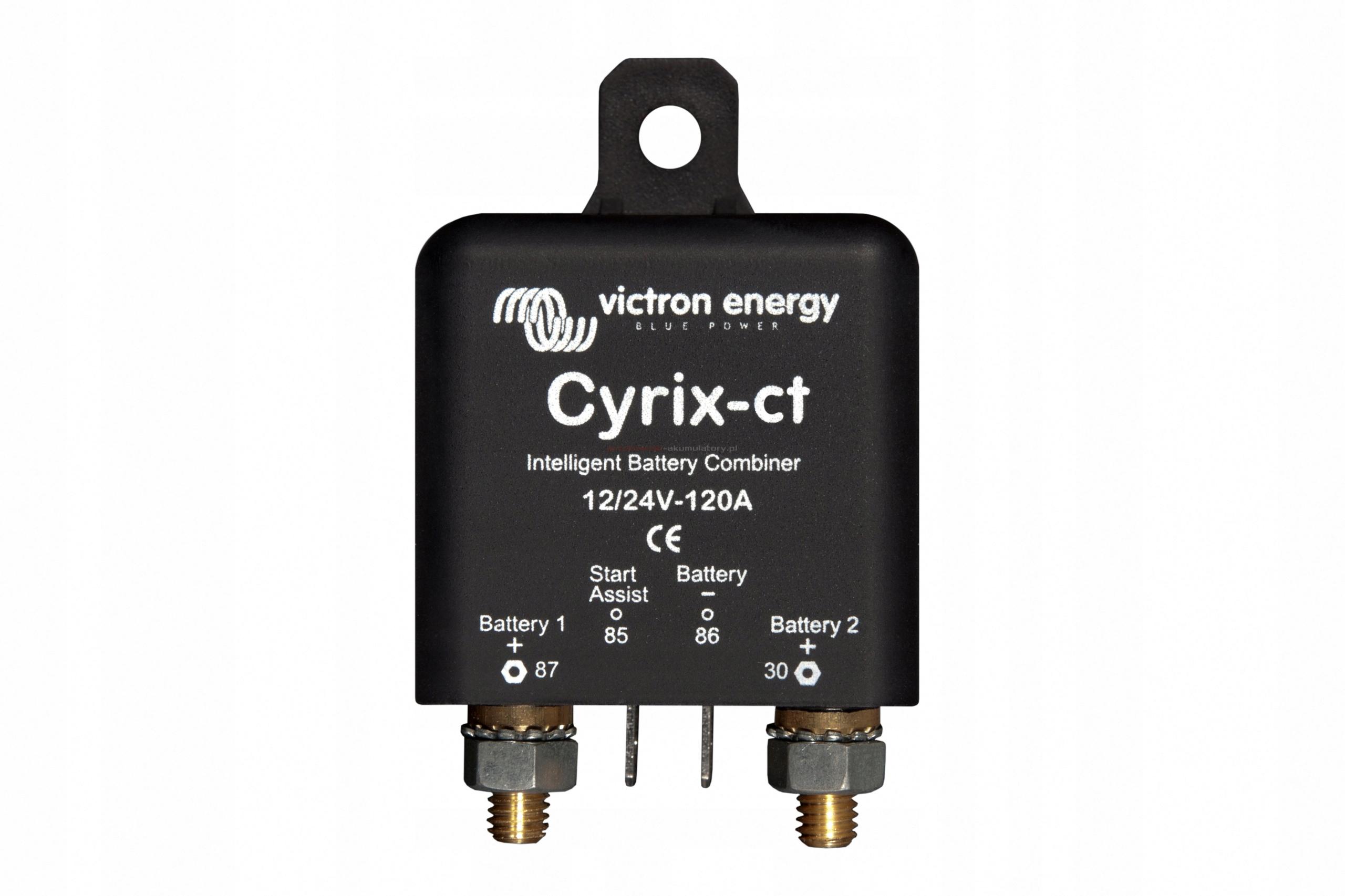 Купить Victron CYRIX CT 12V 24V 120A SEPARATOR BATERII на Otpravka - цены и фото - доставка из Польши и стран Европы в Украину.