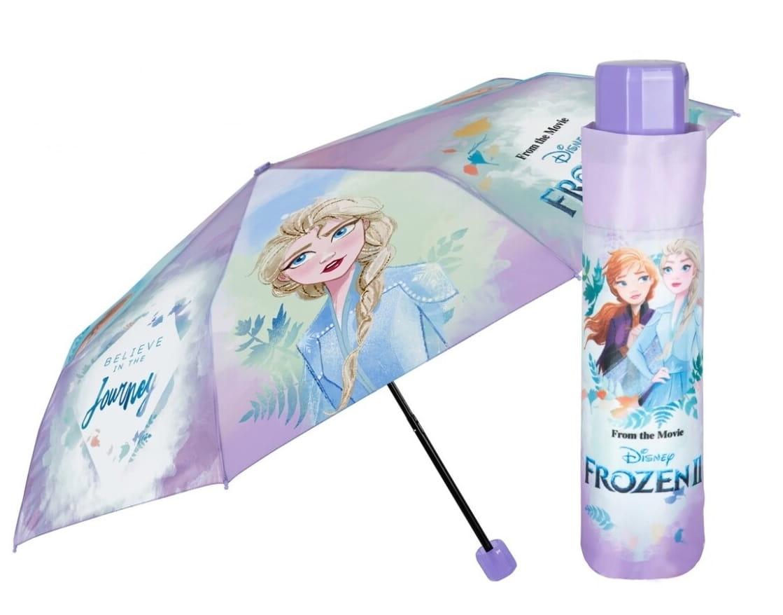 Skladací dáždnik Perletti Frozen II dievčenský dážď