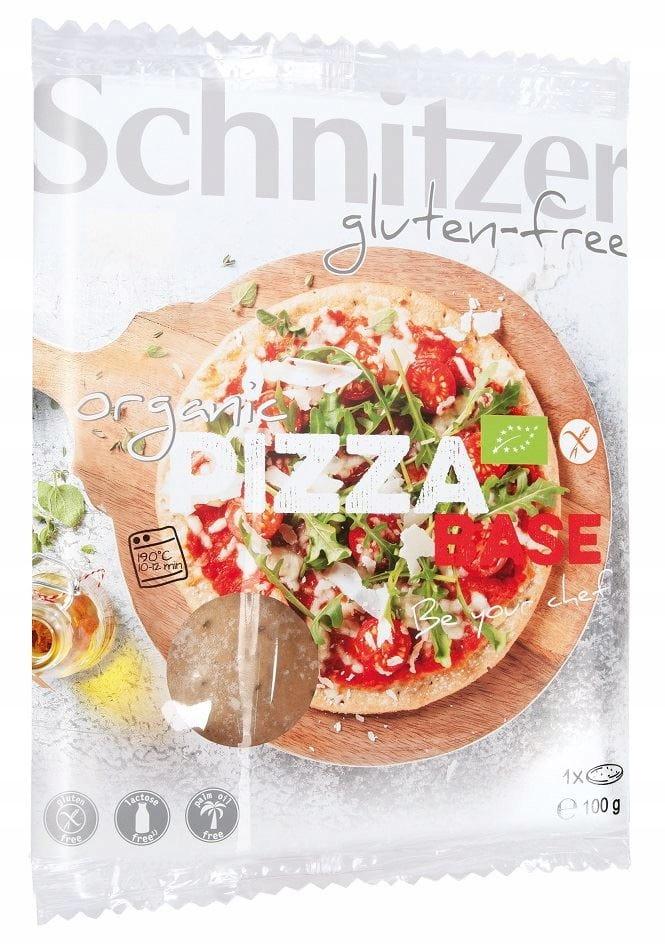 Кукурузная основа для пиццы Био без глютена 100 г