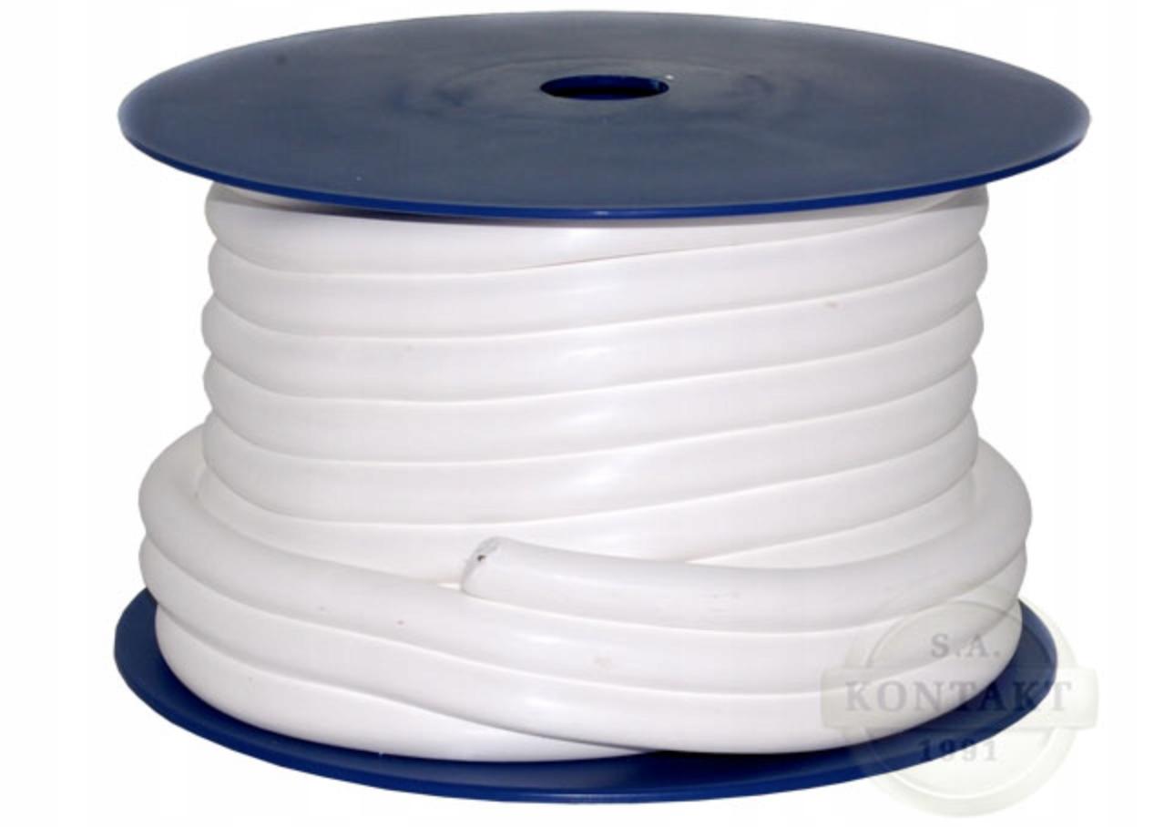 Шнур уплотнительный PTFE (тефлон) 6мм