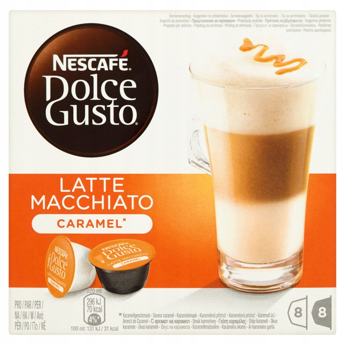 Kapsuły NESCAFE Dolce Gusto Latte Macchiato
