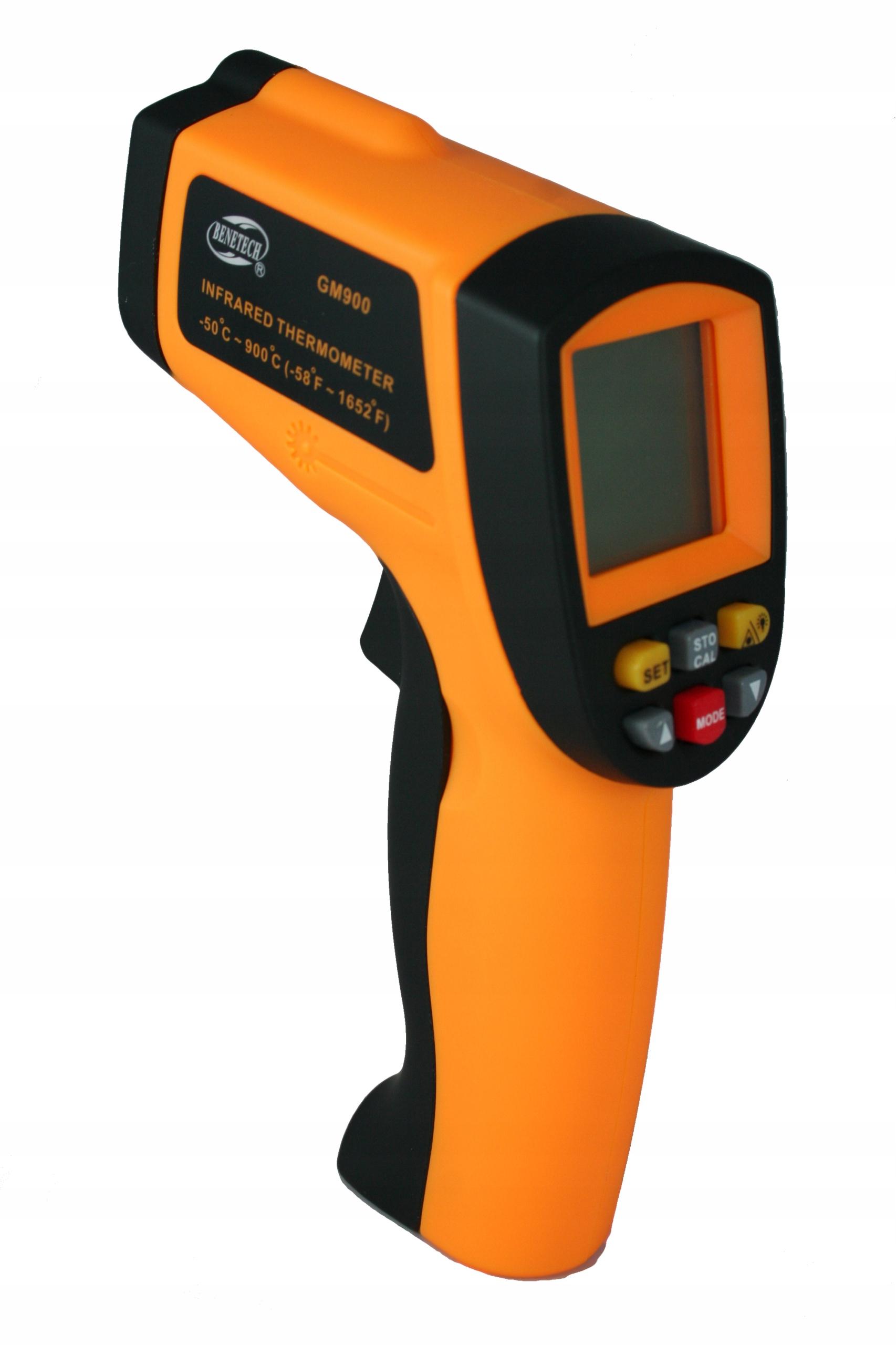 Non-kontaktný laserový teplomer pyrometer GM 900 24h