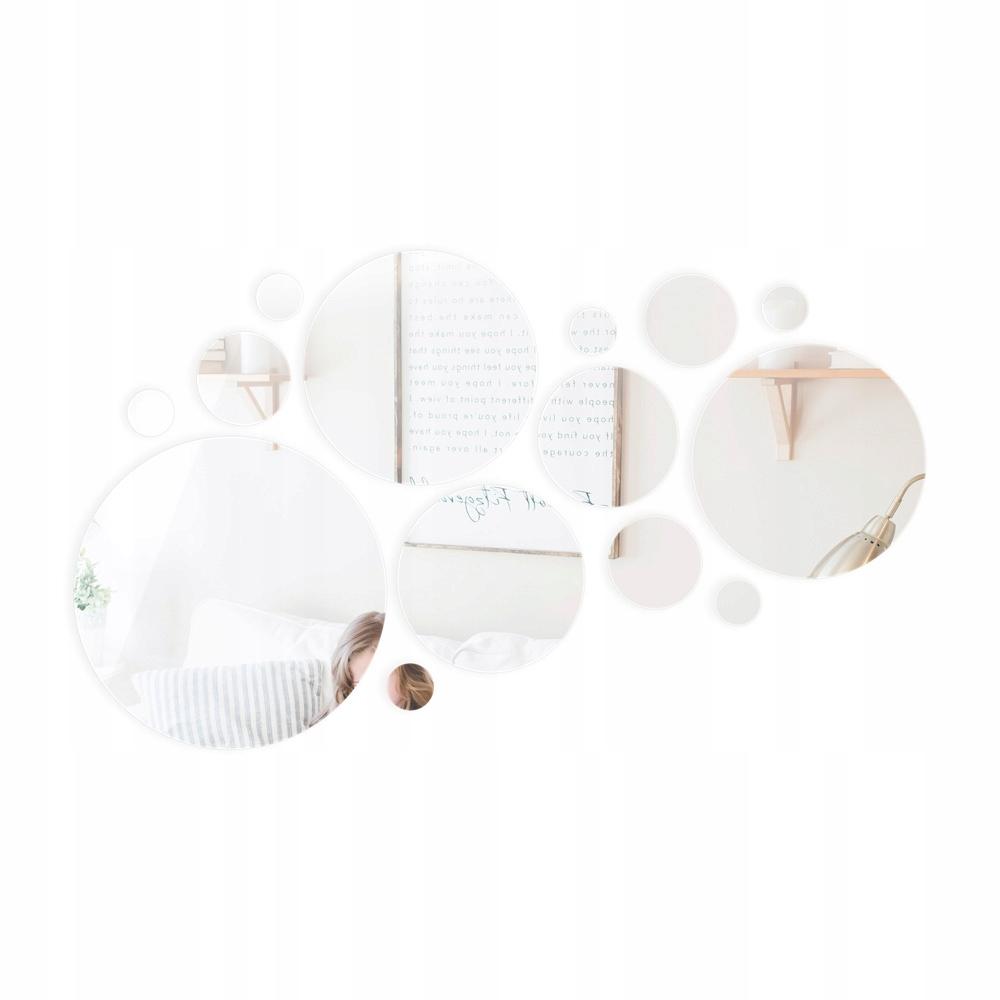 Декоративное акриловое самоклеящееся зеркало с 3D эффектом