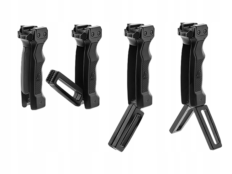 Leapers Bipod skladacie D-Grip Ambi Mall