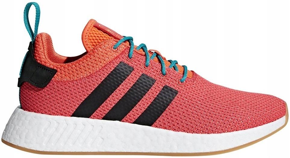 Buty m?skie sneakersy adidas Originals Nmd_R2 Summer CQ3081 POMARA?CZOWY