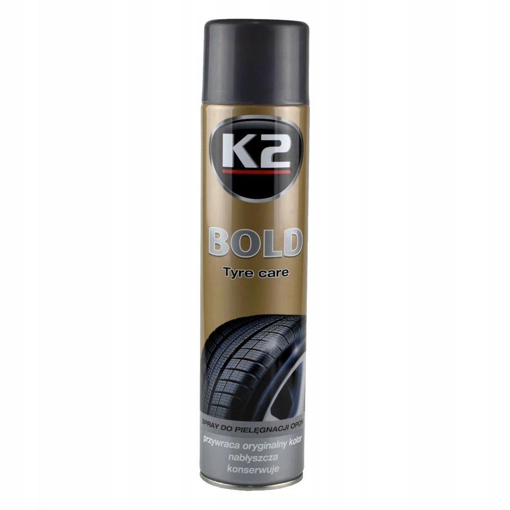 K2 BOLD TYRE GLOSS FOAM FOAM SPRAY 600МЛ