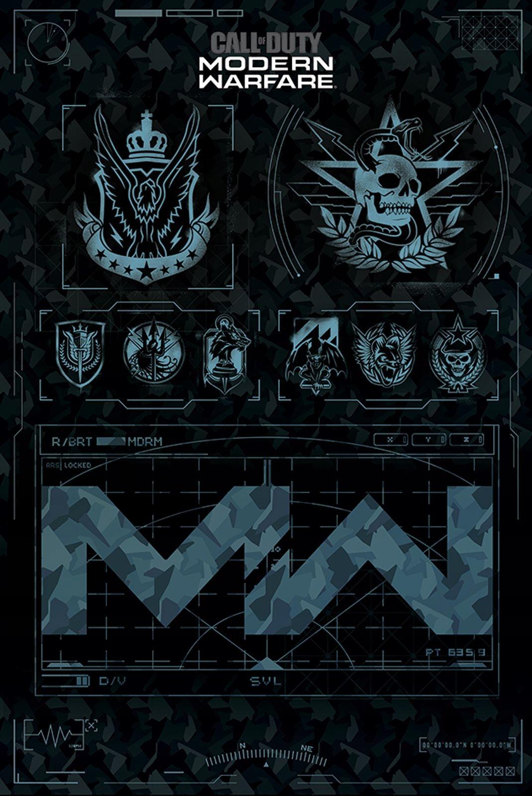 Купить Call of Duty Modern Warfare Плакат 61x91,5 см на Otpravka - цены и фото - доставка из Польши и стран Европы в Украину.