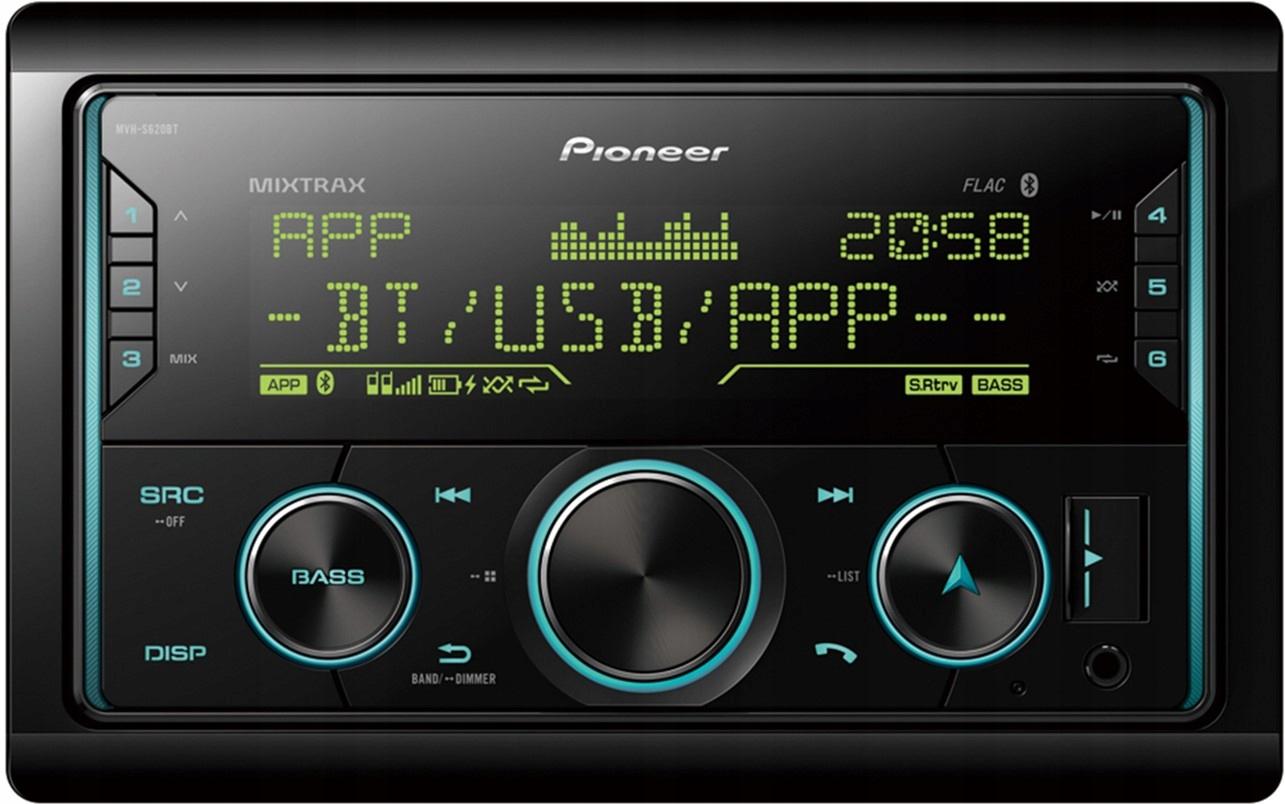 Pioneer Mvh S620bt Radio Samochodowe 2din Bt Mp3 9352876378 Sklep Internetowy Agd Rtv Telefony Laptopy Allegro Pl