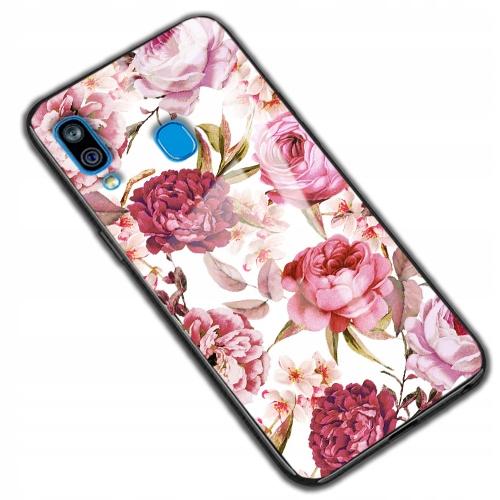 150wzorów Etui Szklane Glass do Samsung Galaxy A40