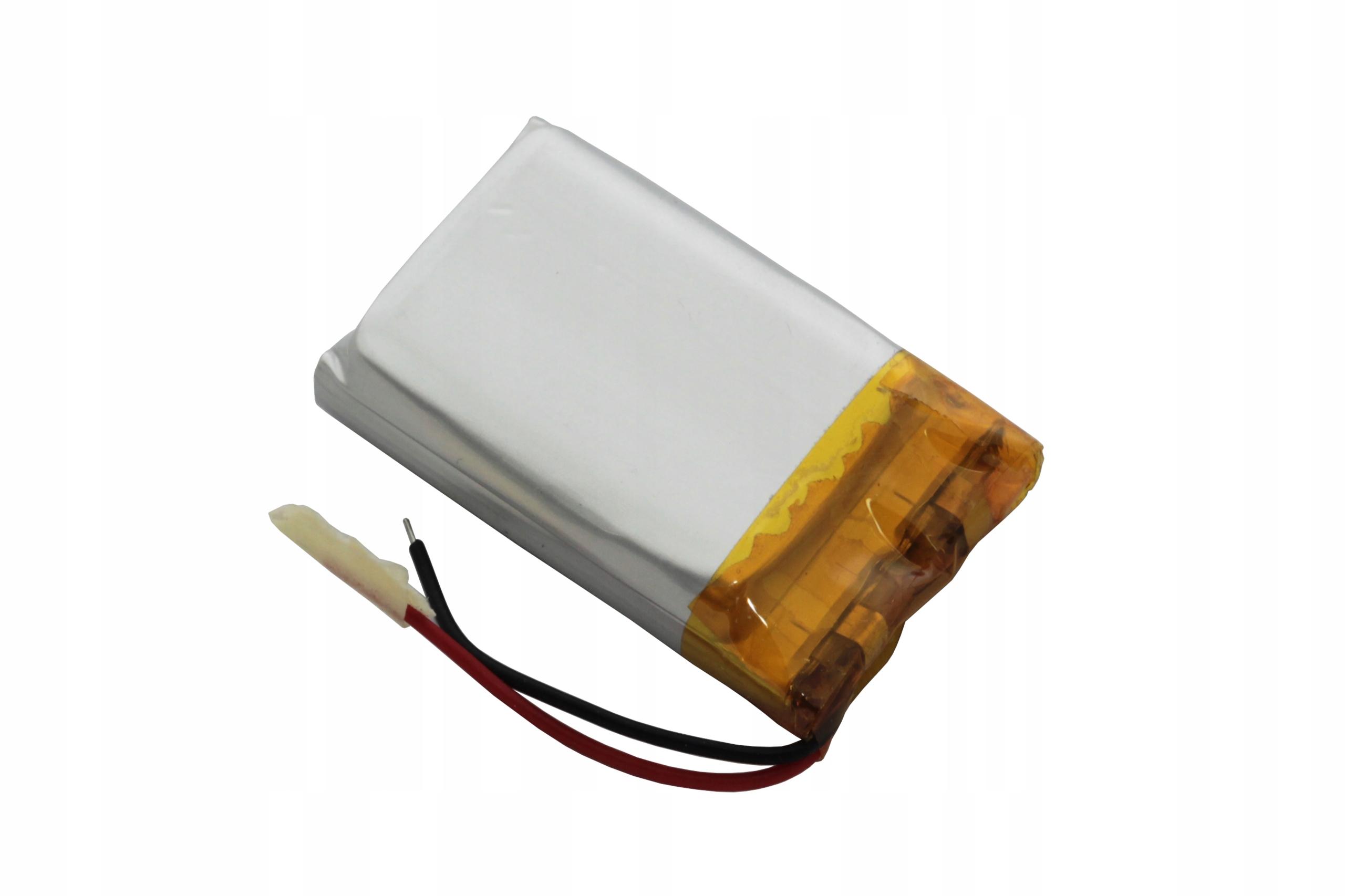 AKUMULATOR PRYZMATYCZNY Li-POLy 3,7V 300mAh 602030 Marka AmElectronics