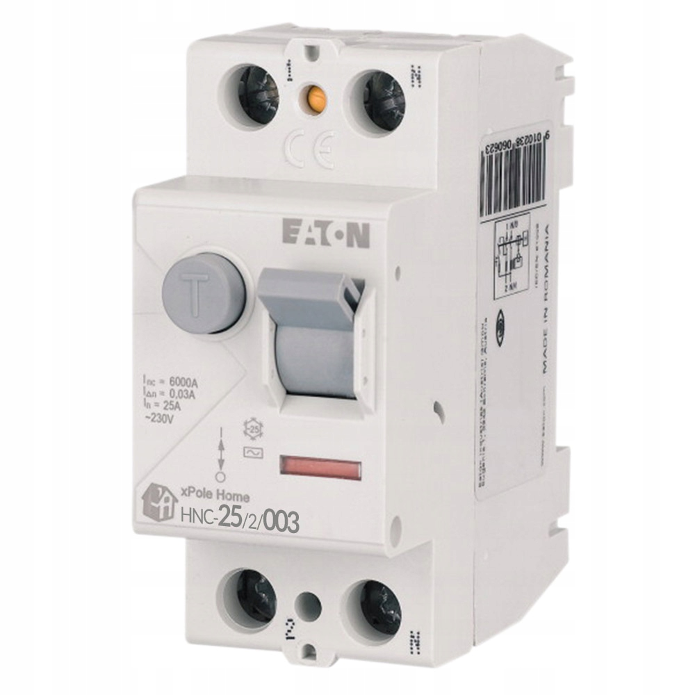 EATON Автоматический выключатель остаточного тока 2P 25A AC 194690
