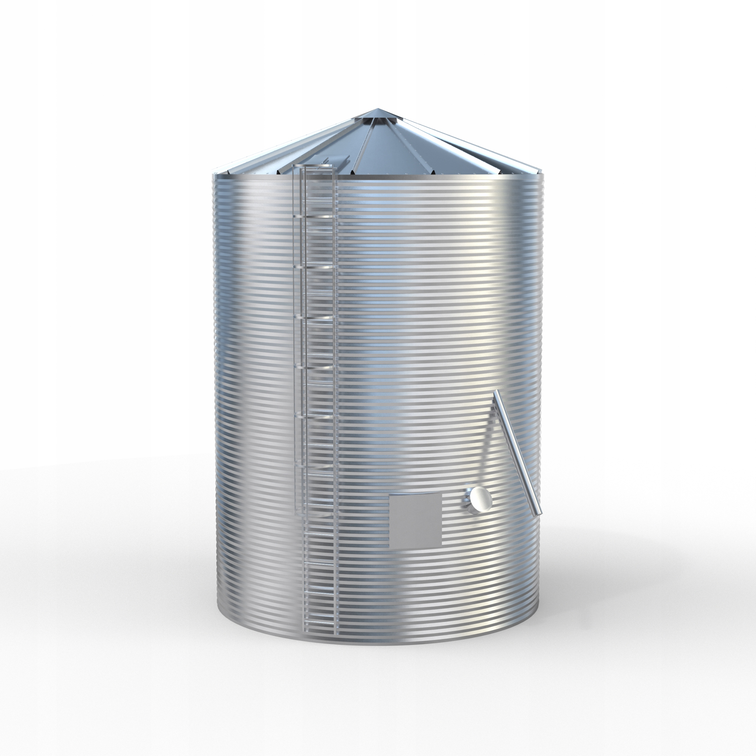 Silosy zbożowe AGOS 75 ton silos PRODUCENT 72h