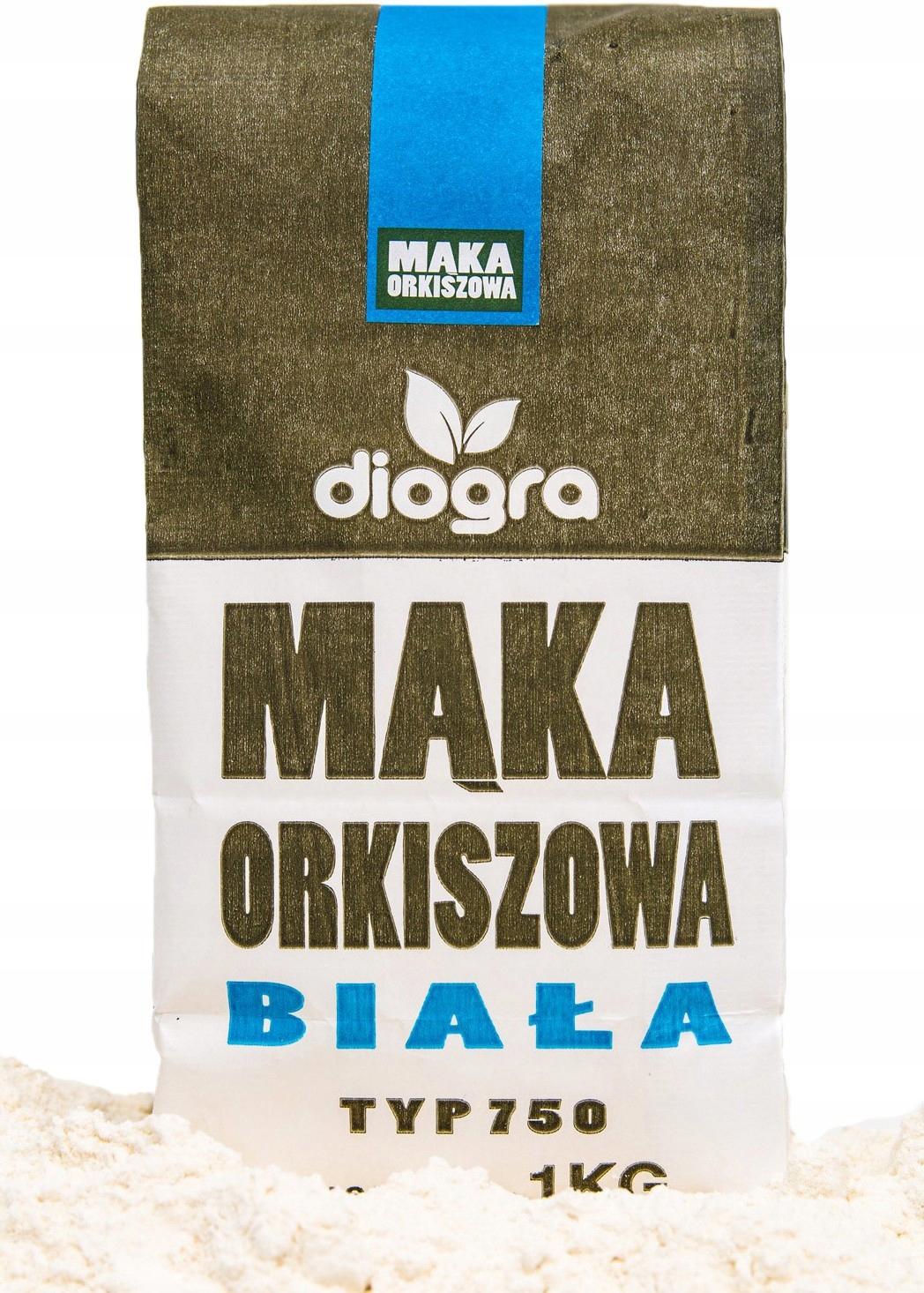 Мука полба 750 г 1 кг Diogra