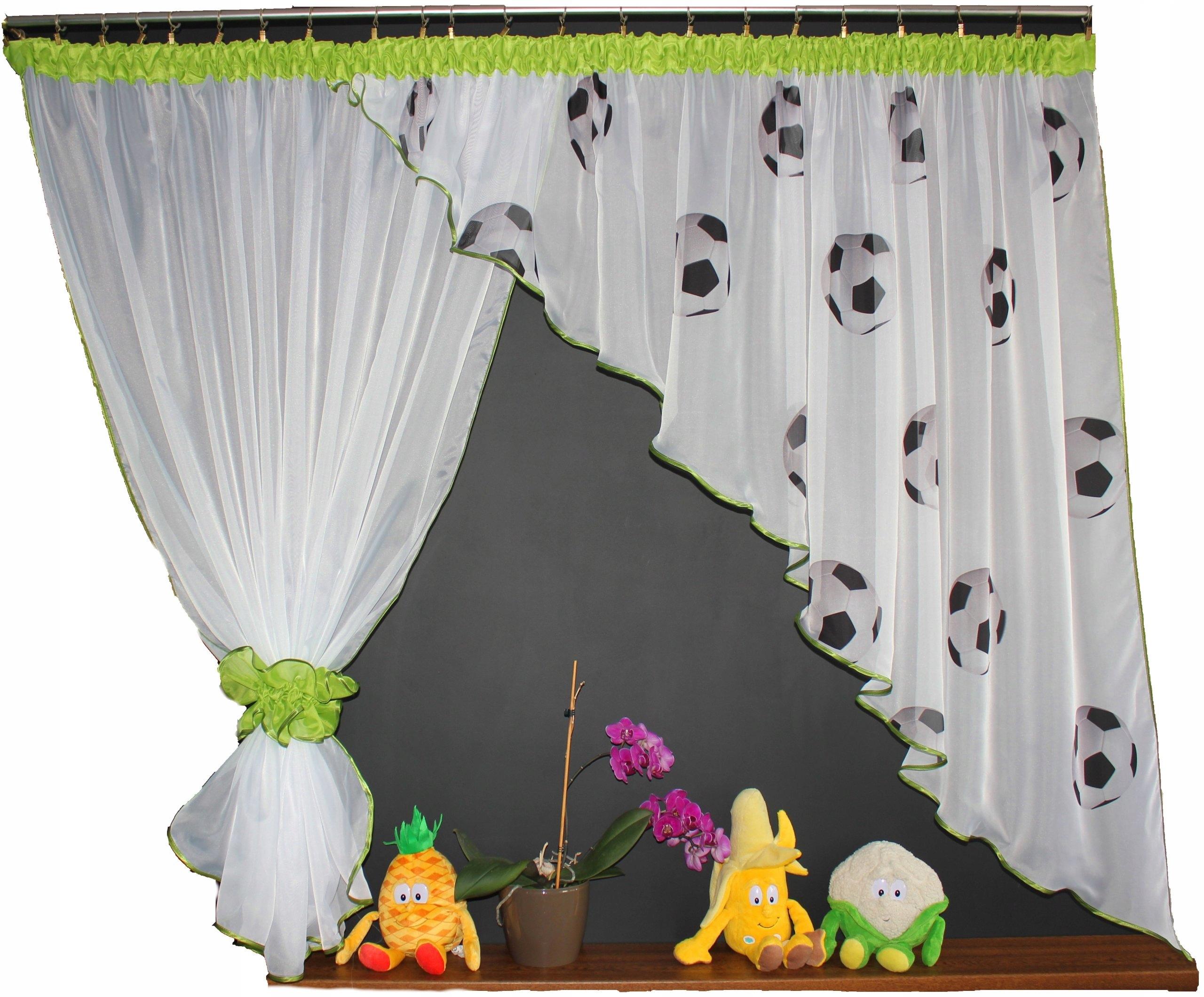 Детские шторы с косыми шарами 25 цветов 400/150
