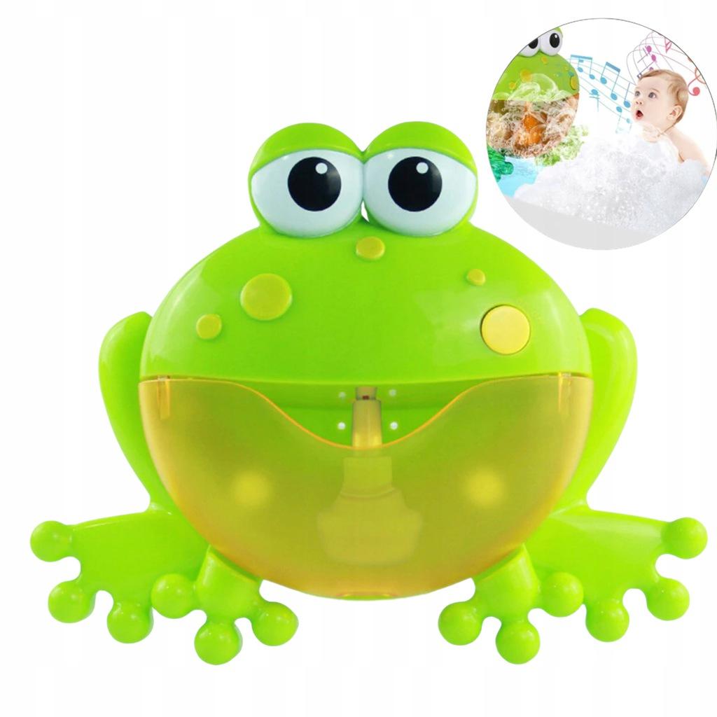 Żaba bąbelkowa do robienia piany żabka 1111-19 Wiek dziecka 3 lata +