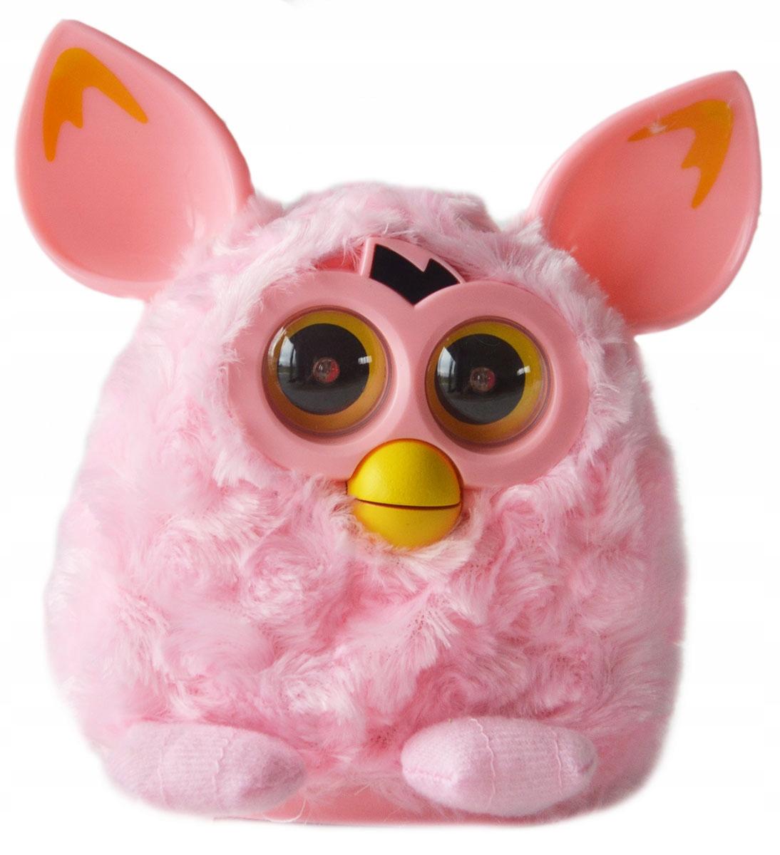 Interaktívne Furby spieva opakuje Ferbi oči LED