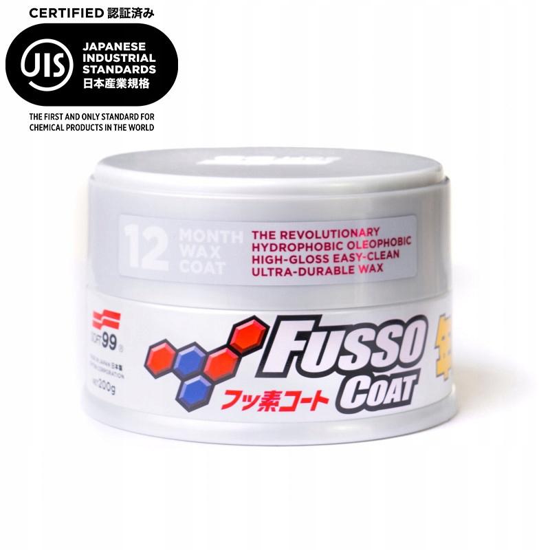 Soft99 автомобильный воск Fusso Coat 12 months light
