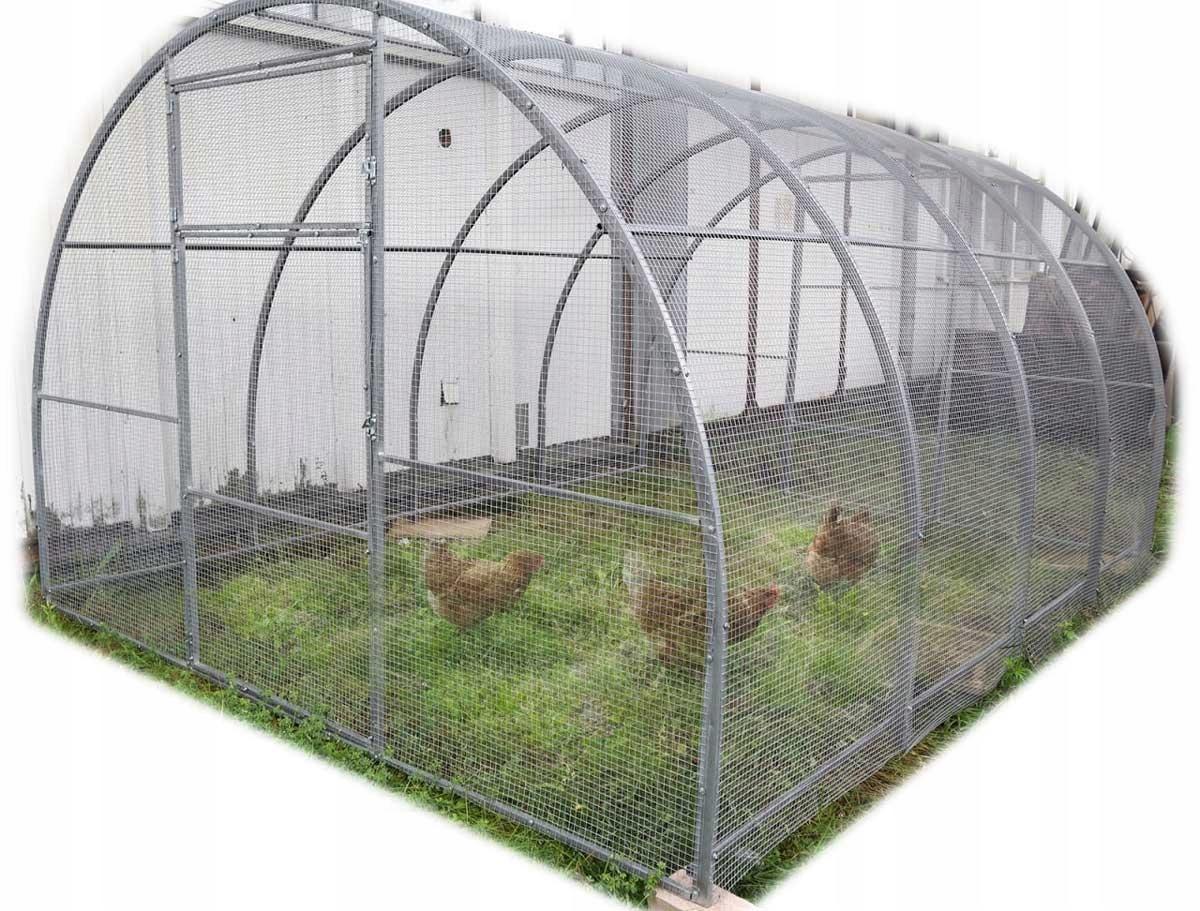 Бег / вольер / клетка для кур, кроликов 3х6м