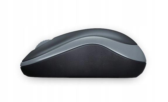 Mysz bezprzewodowa Logitech M185 Nano Szara 7976182615