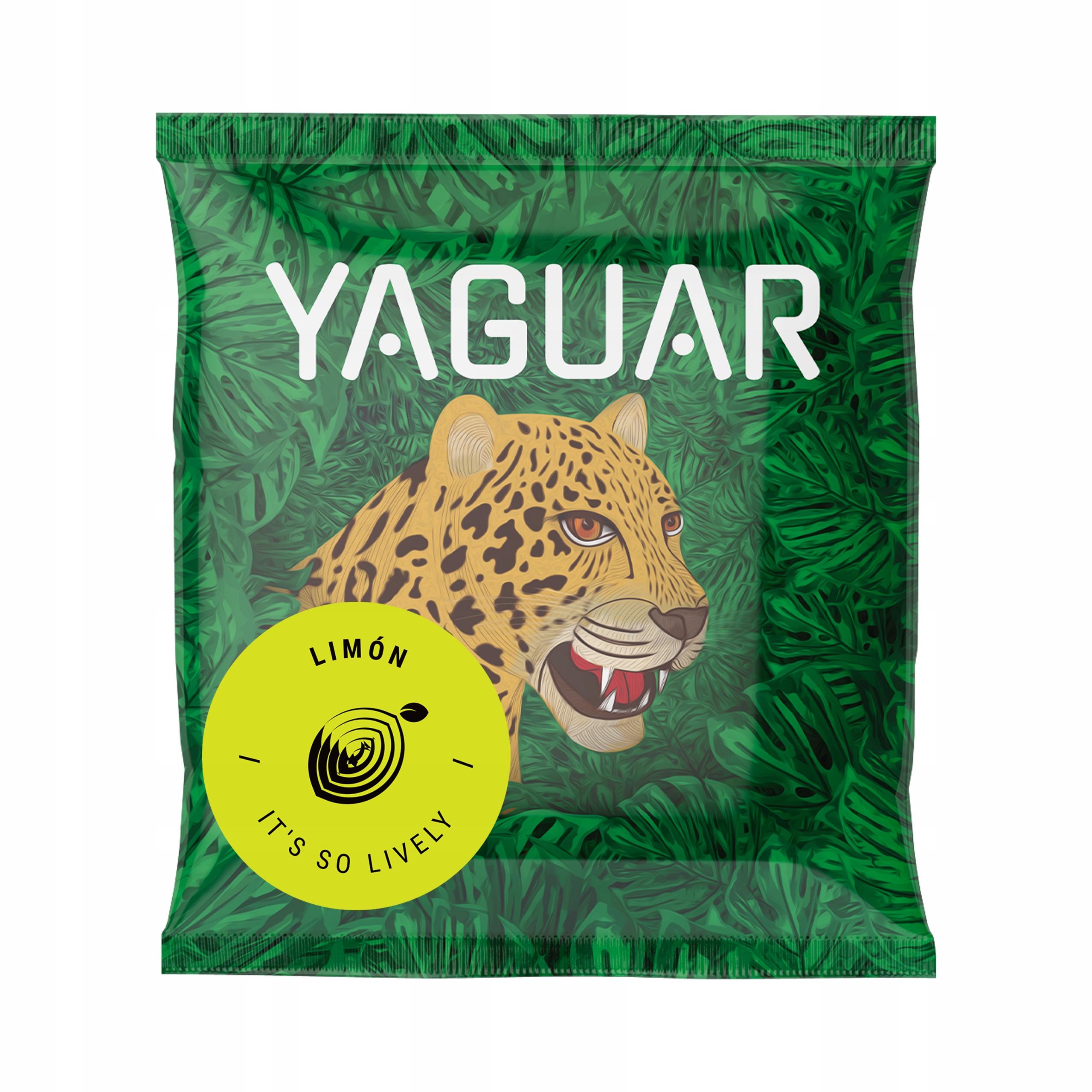 Próbka Yerba Mate Yaguar Limon Cytrynowa 50g