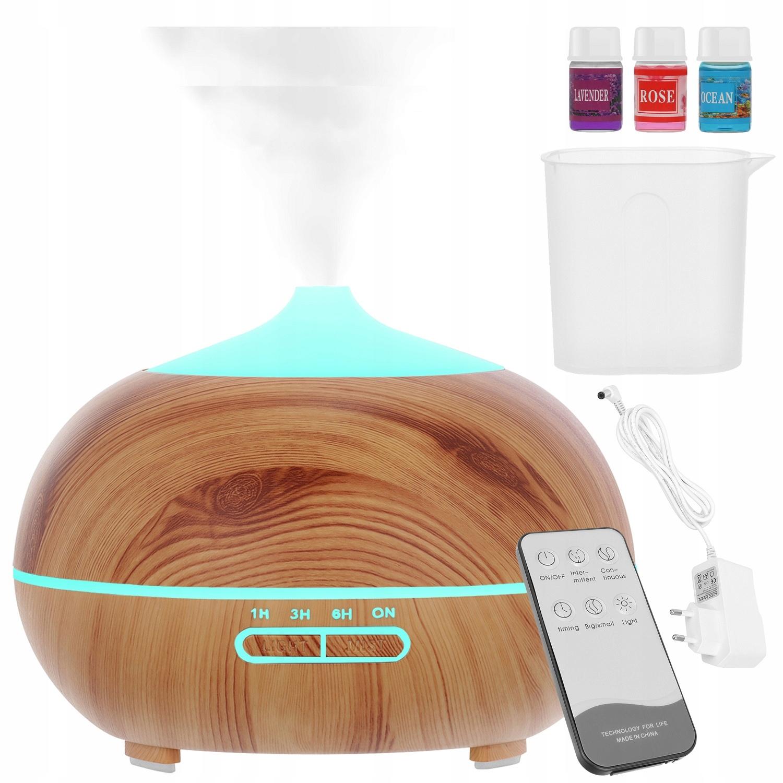 Nawilżacz Powietrza Dyfuzor Zapachowy Aromaterapia