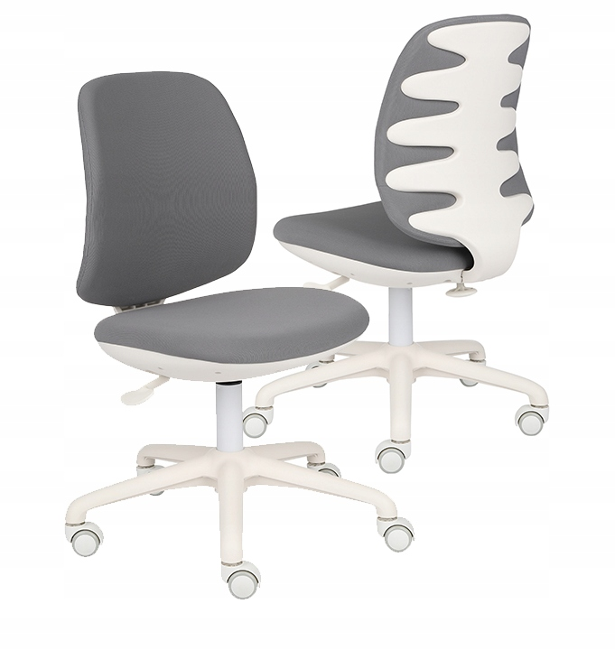 Рабочий стул детский Active White Grey