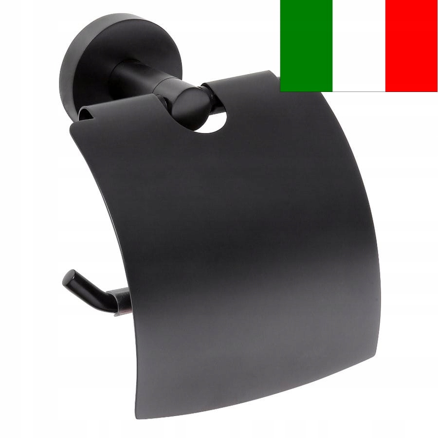 Vešiak na papier 14x15,5x8cm čierny, X-ROUND