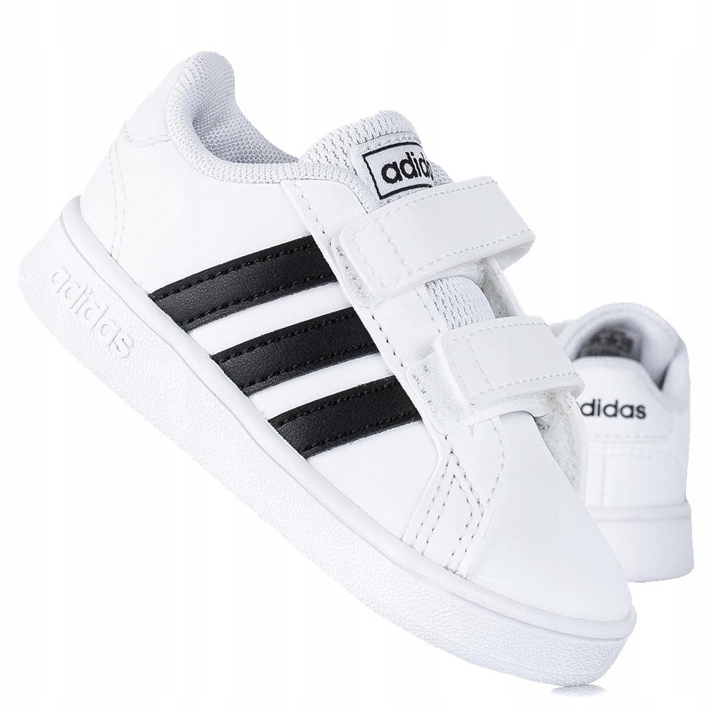 Adidas Grand Court EF0118 детская спортивная обувь