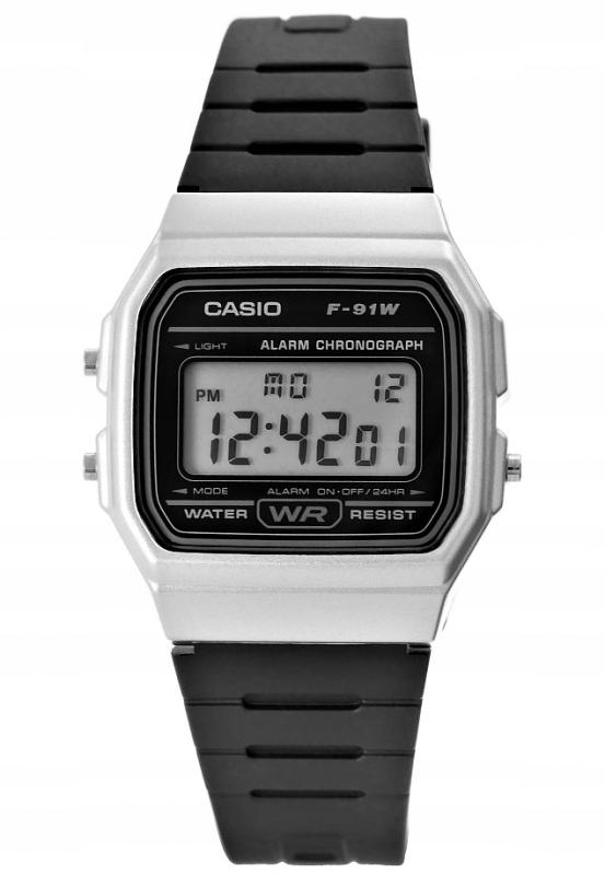 Pánske hodinky CASIO retro vintage SILVER