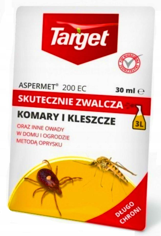 Целевой ASPERMET 200 Спрей на комаров клещей 30мл