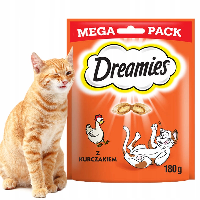 МЕЧТЫ с курицей для кошки MEGA PACK 180г