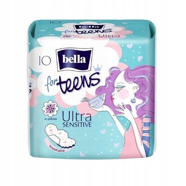 Bella гигиенические Прокладки For Teens Ultra Sensitive 10шт